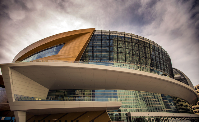 A exterior view of the T-Mobile Arena is seen on Saturday, March 12, 2016. Jeff Scheid/Las Vegas Review-Journal Follow @jlscheid