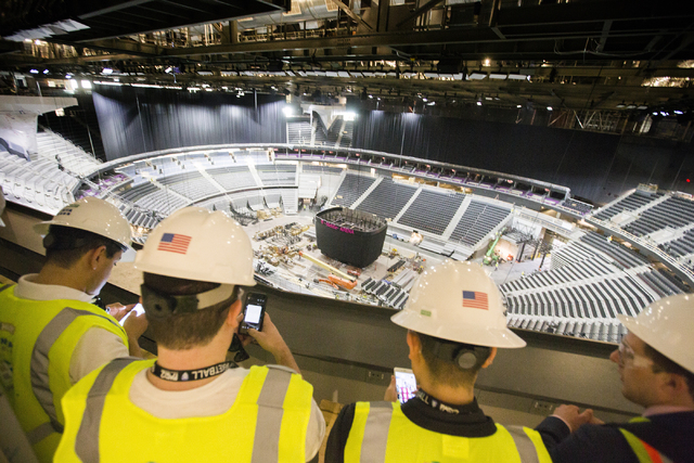 T Mobile Arena Is Built For Hockey Las Vegas Review Journal