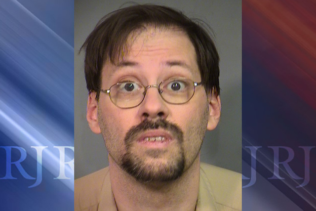 Police arrested Frank Bayer, a 45-year-old English teacher, on three separate first-degree felony charges of kidnapping. (Las Vegas Metropolitan Police Department)