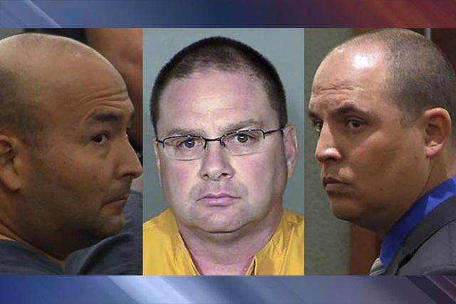 Mark M. Branco, Anthony Granito and Jeffrey Martin (Las Vegas Review-Journal and Las Vegas Metropolitan Police Department)