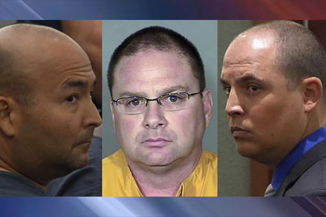 Mark M. Branco, Anthony Granito and Jeffrey Martin (Las Vegas Review-Journal and Las Vegas Metropolitan Police Department)