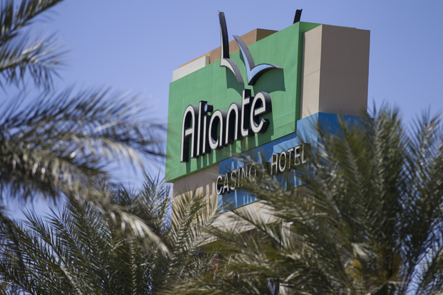 Aliante casino-hotel is seen on Tuesday, April 26, 2016, in North Las Vegas. Erik Verduzco/Las Vegas Review-Journal Follow @Erik_Verduzco