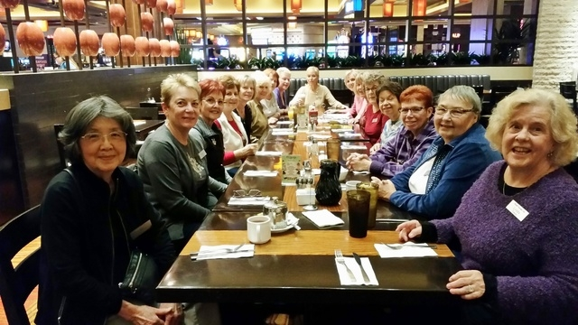 Members of the Westside Newcomers Club participate in a brunch at the Aliante last year. The nonprofit women's social organization focuses on providing friendship and support through 40 differen ...