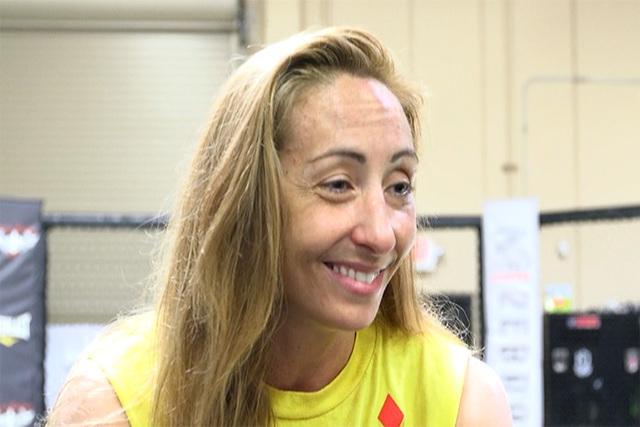 UFC's Heather Clark. (Heidi Fang/Las Vegas Review-Journal)