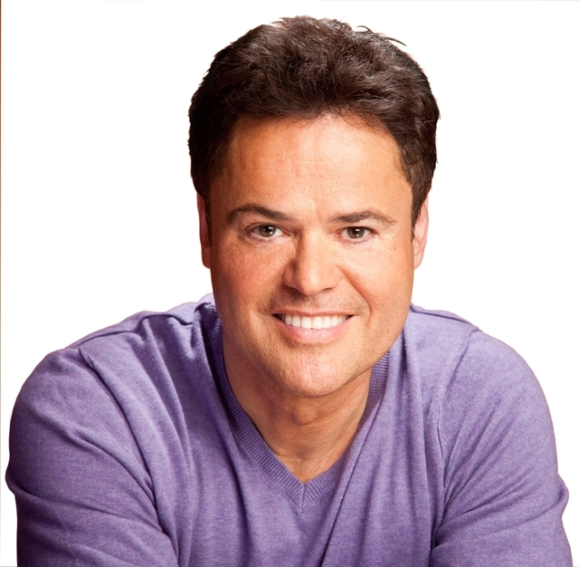 donny osmond purple