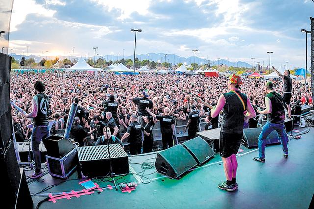 Killswitch Engage at Extreme Thing 2014. Fred Morledge/Courtesy Photo