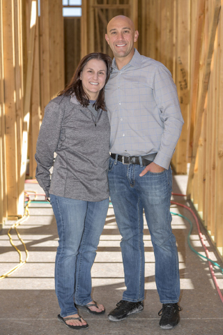 John and Jackie Miller are building their home in Ascaya. (DAVID REISMAN/REAL ESTATE MILLIONS)