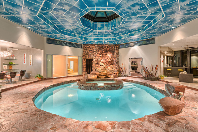 Quirky Home Breaks Tradition With Indoor Pool And Star Trek Doors Photos Las Vegas Review
