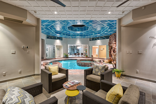 """Allen Rosoff said he designed the home with no hallways so that """"everything leads to the pool."""" (COURTESY OF LUXE ESTATES & LIFESTYLE)"""