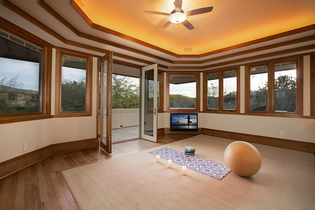 The yoga room. (Synergy Sotheby's International Realty)