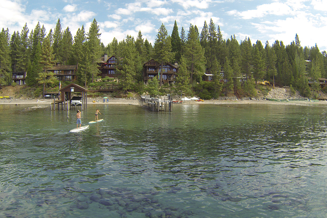 Lake Tahoe homes near Dollar Point. (Courtesy)