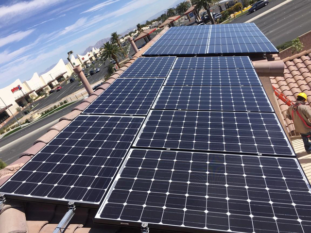 Summerlin resident Paul Huettner has been researching solar energy options for his home for the past three years. He decided to install at 5-kilowatt system with the help of American Patriot Solar ...