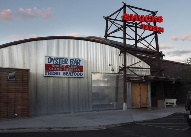 Shucks Tavern is seen at 7155 N. Durango Dr., in Las Vegas on Friday, April 1, 2016. Jerry Henkel/Las Vegas Review-Journal