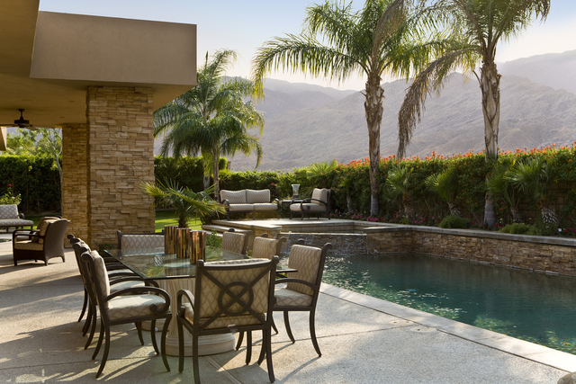 THINKSTOCK Now is the time to clean up your patio furniture so you can enjoy the temperate weather.