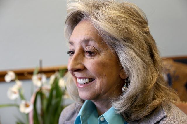 Congresswoman Dina Titus, D-Las Vegas (Rachel Aston/Las Vegas Review Journal Follow @rookie__rae)