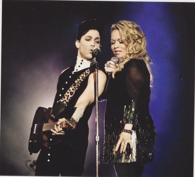 Prince singing with Elisa Fiorillo in 2012. (Justine Walpole/courtesy photo)