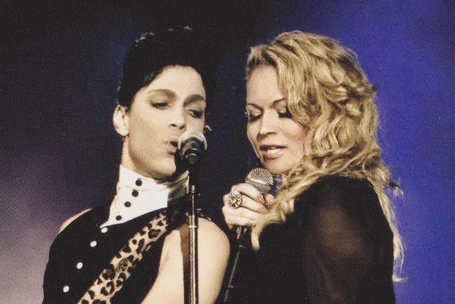 Prince singing with Elisa Fiorillo in 2012 in Australia. (Justine Walpole/courtesy photo)