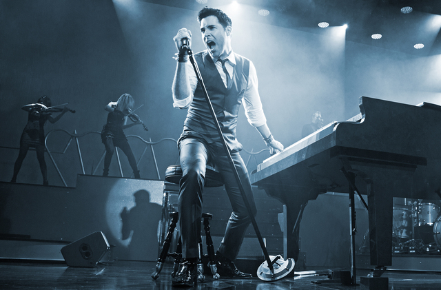 Frankie Moreno brought his show, which features original songs and modern arrangements of old-school Las Vegas standards, to Planet Hollywood Resort. Special to View