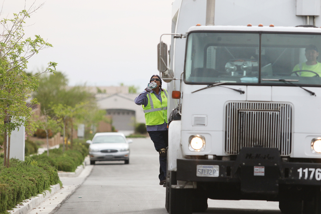 These aren't the garbage collectors you're thinking of   Las Vegas