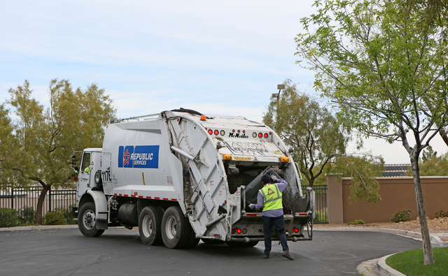 These aren't the garbage collectors you're thinking of | Las Vegas