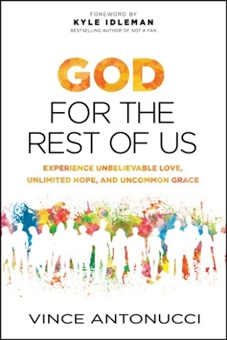"Vince Antonucci shares his philosophy of inclusion in ""God For the Rest of Us."" Special to View"