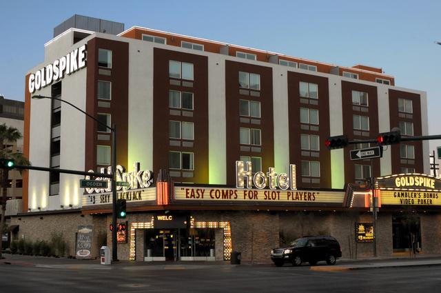Gold spike Hotel and Casino Downtown Las Vegas 4/6/10. Courtesy Las Vegas News Bureau