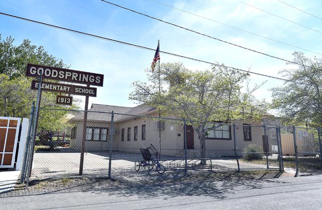 The Goodsprings Elementary School is seen Tuesday, April 5, 2016, in Goodsprings. David Becker/Las Vegas Review-Journal Follow @davidjaybecker