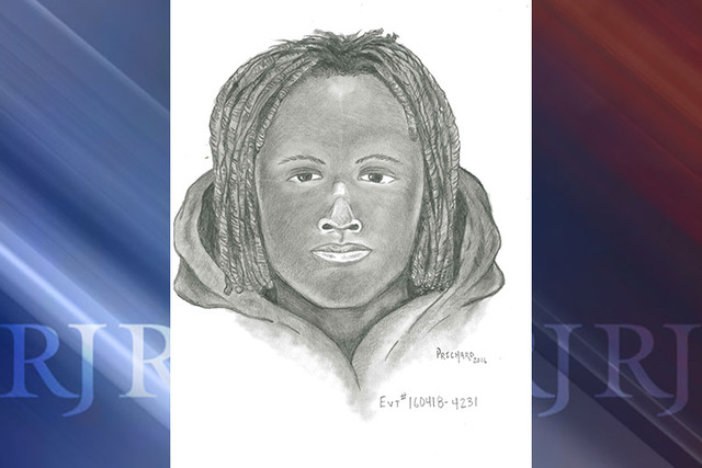 Police are seeking help in locating a man involved in a central Las Vegas Valley home invasion. (Las Vegas Metropolitan Police Department)