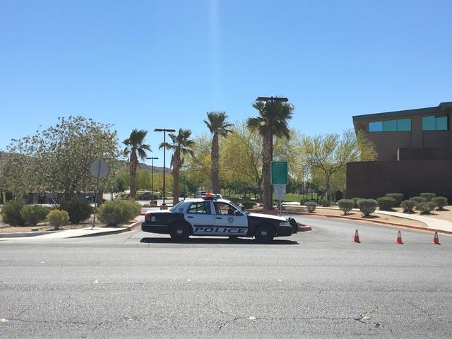 Hollywood Recreation Center and Park in Las Vegas (Bizuayehu Tesfaye/Las Vegas Review-Journal)