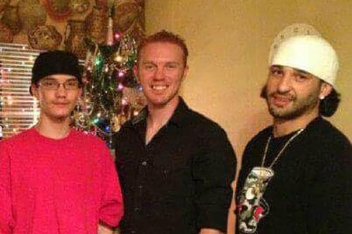Matthew Christensen, center, pictured with brothers Curtis, left, and Reggie, right. (Courtesy of Reggie Christensen)