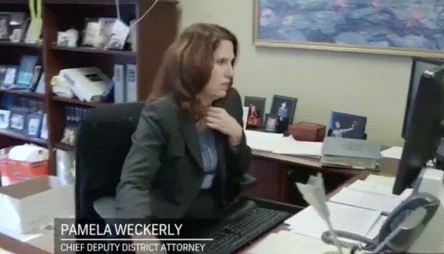 """Pamela Weckerly, Chief Deputy District Attorney for Clark County, is shown in this scene from """"Las Vegas Law,"""" which premieres May 12. The show features crime stories with unpreceden ..."""