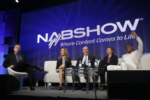Moderator Michael Schneider, from left, Chairman and CEO of FOX Television Group Dana Walden, Chairman and CEO of FOX Television Group Gary Newman, Executive Producer and Showrunner Ilene Chaiken, ...