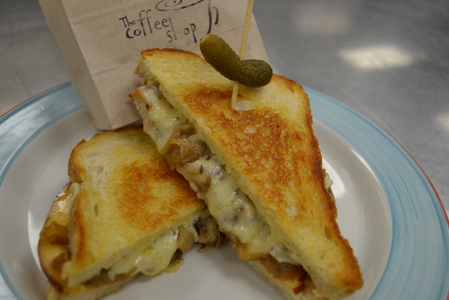 The Grilled Cheese (Courtesy The Coffee Shop)