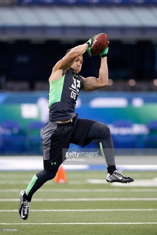 Miles Killebrew is a Foothill High School product and hard-hitting former Southern Utah safety widely projected to be picked by the end of the fourth round in this week's NFL Draft. (Courtesy photo)