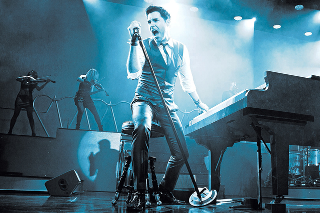 Frankie Moreno is bringing his show, which features original songs and modern arrangements of Old School Vegas standards to Planet Hollywood beginning April 20. Courtesy photo
