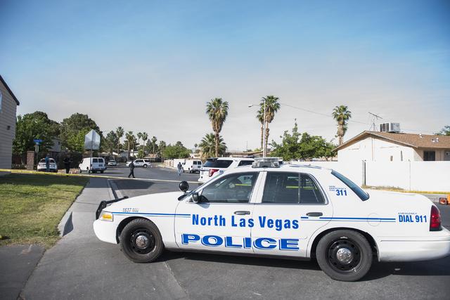 A North Las Vegas Police Department patrol car. (Martin S. Fuentes/Las Vegas Review-Journal)