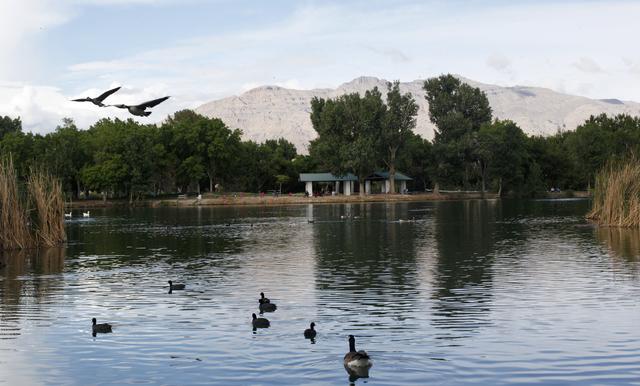 Floyd Lamb Park at Tule Springs is shown April 11. Rachel Aston/View Follow @rookie__rae