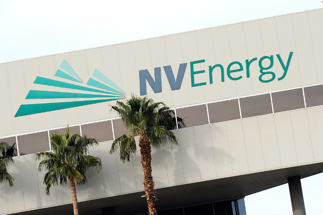 NV Energy headquarters. (David Becker/Las Vegas Review-Journal)