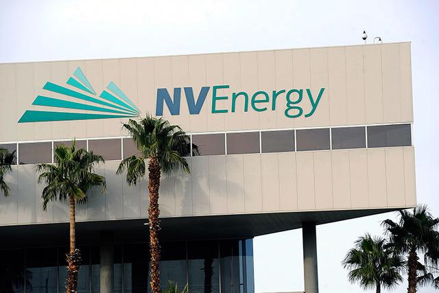 NV Energy headquarters. (David Becker/Las Vegas Review-Journal)