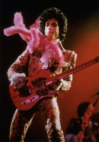 FILE - In this Jan. 11, 1985 file photo, Prince performs before a sold-out audience, in Houston. Prince's publicist has confirmed that Prince died at his his home in Minnesota, Thursday, April 21, ...