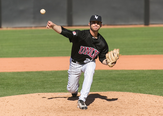 Senior starting pitcher Kenny Oakley has been a bright spot for the Rebels during a down season. (Courtesy photo/UNLV)
