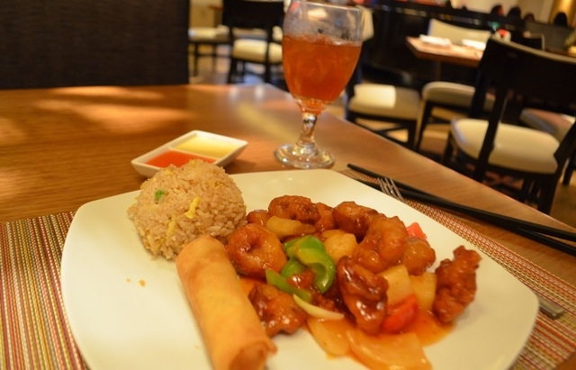 The sweet and sour pork lunch special is available from 11 a.m. to 3 p.m. weekdays at Ondori Asian Kitchen, a new restaurant inside The Orleans, 4500 W. Tropicana Ave. Ginger Meurer/Special to View