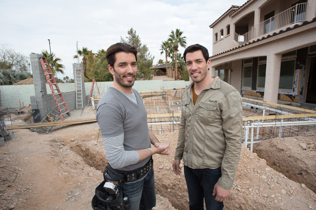 """Property Brothers"" Drew and Jonathan Scott remodeled their Las Vegas home. (HGTV)"