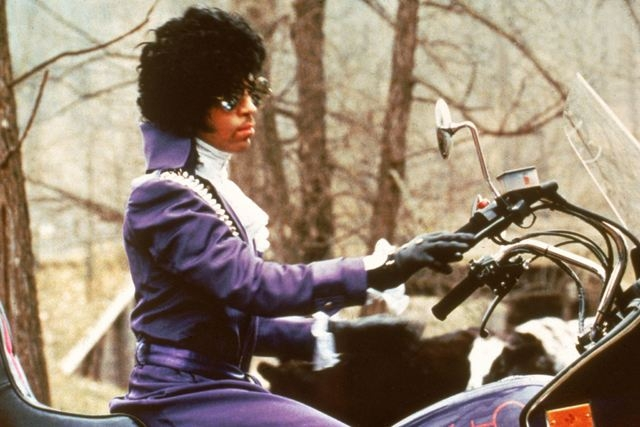 "Prince stars in ""Purple Rain."" (Facebook)"