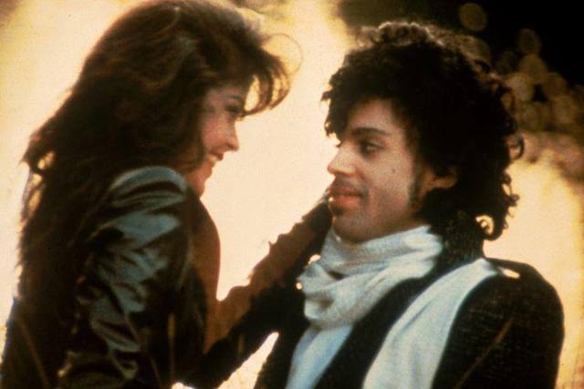 "Apollonia Kotero and Prince in ""Purple Rain."" (Facebook)"