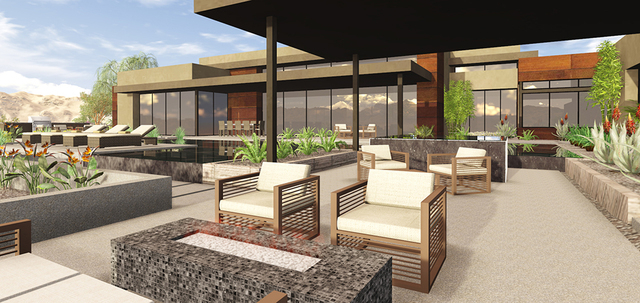 As of this writing, no homes have been completed yet in Ascaya, and the Miller's residence is in the early stages of construction. (COURTESY OF BLUE HERON DESIGN BUILD)