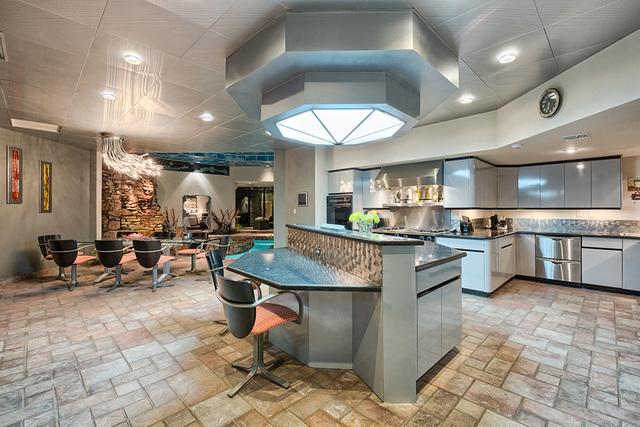 The kitchen. (COURTESY OF LUXE ESTATES & LIFESTYLE)
