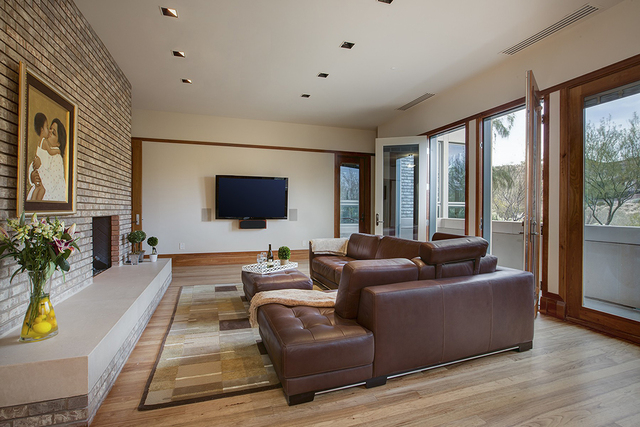 The family room. (Synergy Sotheby's International Realty)