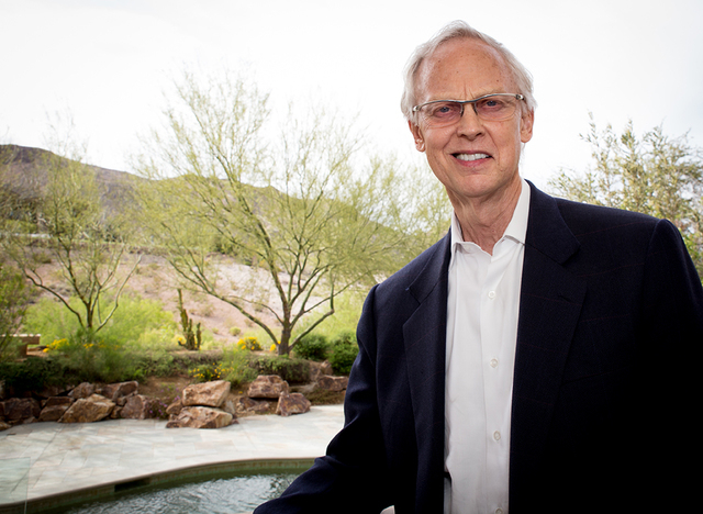 John Gubler, a Las Vegas Valley attorney of 45 years, is a native of the city. (Tonya Harvey/Real Estate Millions)