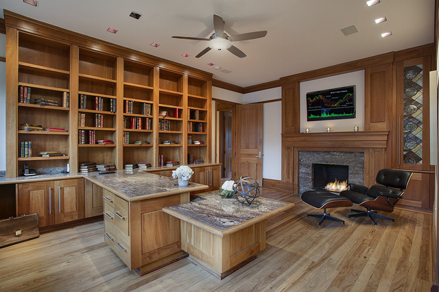 The office. (COURTESY OF SYNERGY SOTHEBY'S INTERNATIONAL REALTY)